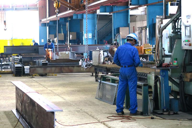 工場内の様子