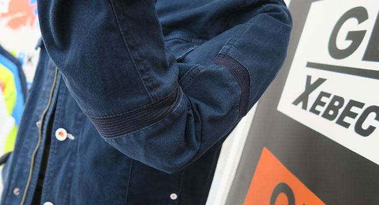 現場服に施された動きやすい工夫