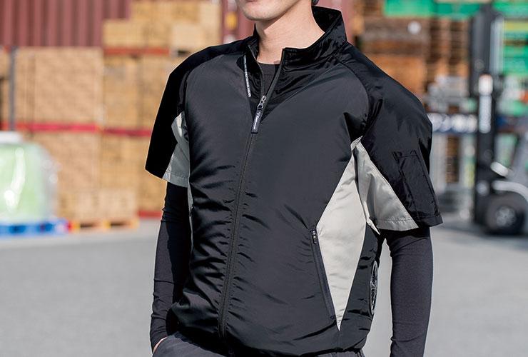 ジーベックの最新半袖空調服