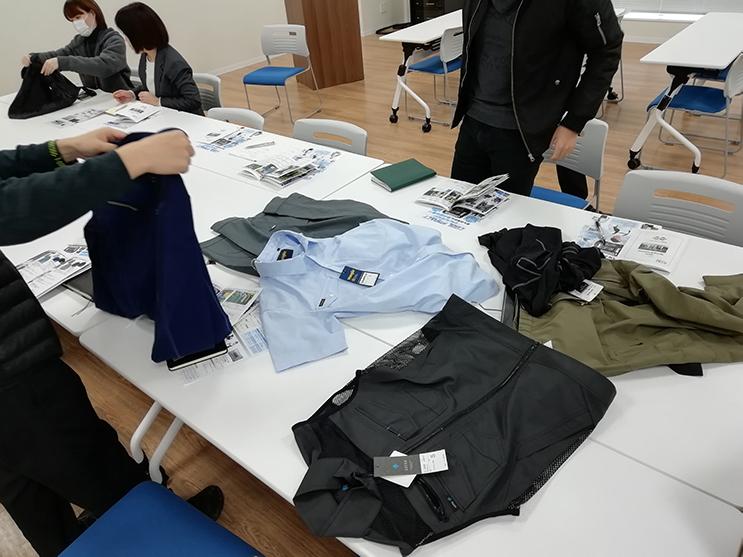 アイトス 商品説明会
