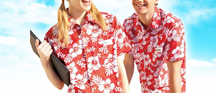 ユニフォームとしてのアロハシャツ