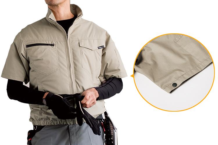 半袖の空調服 イメージ画像
