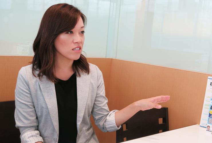 ネッツトヨタ福井 森川さんインタビュー風景