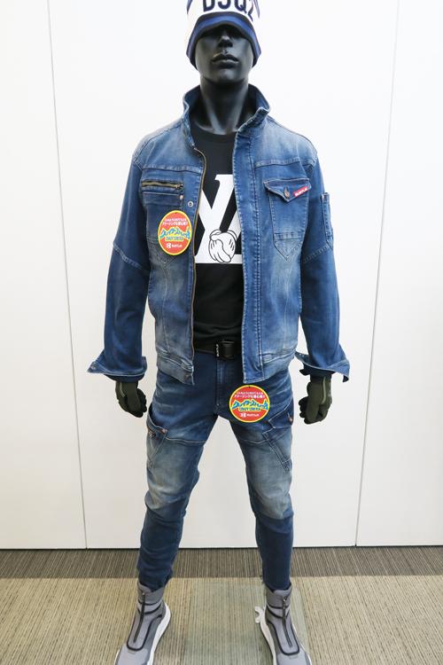 バートル ストレッチデニム作業服 571 572