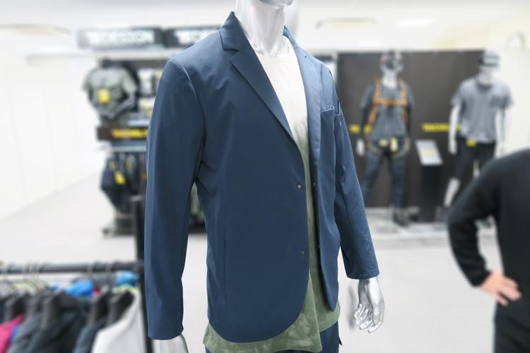 TS-DESIGN スーツ型作業服 ステルスジャケット