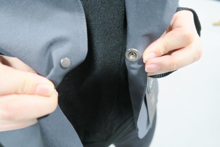 TS-DESIGN スーツ型作業服 ステルスジャケット 前ボタン