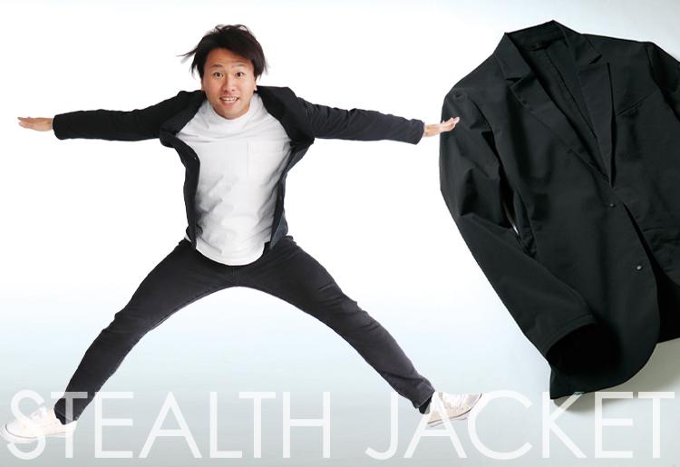 スーツ型作業服ステルスジャケットの販売を任された男 メイン画像