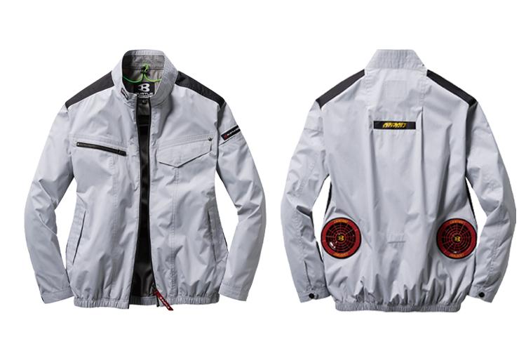 バートル エアークラフト空調服 長袖ブルゾン AC1071