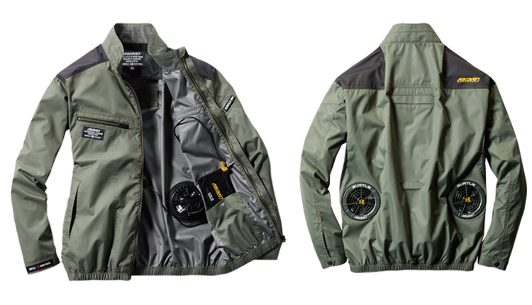 バートル空調服 エアークラフト長袖ブルゾン 03-AC1071