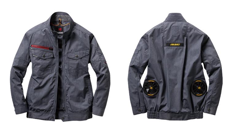 バートル空調服 エアークラフト長袖ブルゾン 03-AC7141