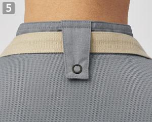 コックシャツ(31-AS8609)の商品詳細「エプロンホルダー」